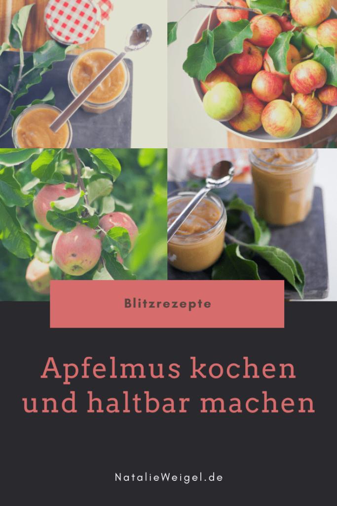 Apfelmusrezept