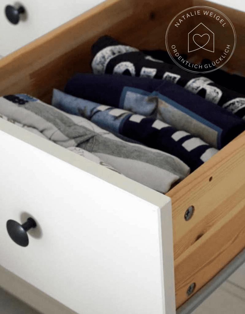 Kleider falten nach Marie Kondo